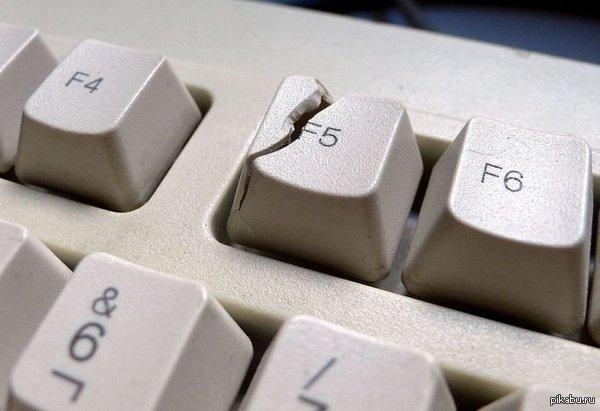 Broken keyboard on pc