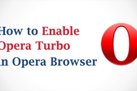 How to enable or disable Opera Turbo?