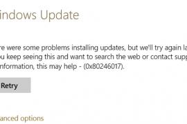 How to fix error 0x80246017 in Windows 10?