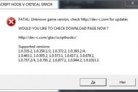 How to fix Script Hook V Critical Error in GTA 5?