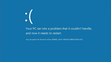 KERNEL_DATA_INPAGE_ERROR KERNEL_DATA_INPAGE_ERROR