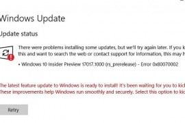 How to fix Windows 10 0x80240034 error?