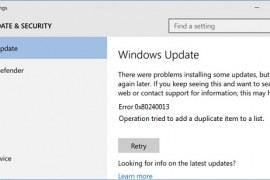 How to fix Windows Store 0x80240013 error?