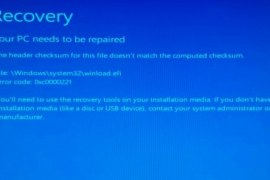 How to fix BSoD 0xc0000221?